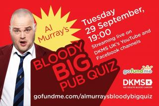 News: Al Murray Hosts Bloody Big Online Pub Quiz Tonight