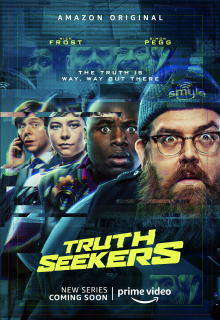 News: Watch The First Trailer For Simon Pegg And Nick Frost's New Series Truth Seekers