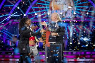 Video: Watch Bill Bailey And Oti Mabuse Dance To Queen's The Show Must Go On