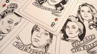Artist Sets Up Crowdfunding Campaign To Create Comic Deck Of Cards