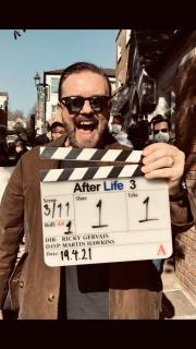 Ricky Gervais Starts Shooting After Life Series Three
