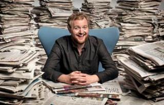 News: Miles Jupp Quits The News Quiz