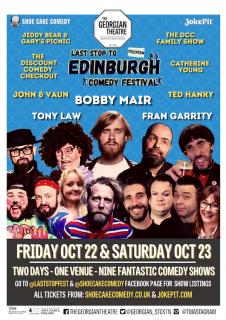 Mini-Comedy Festivals In Leeds And Stockton