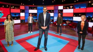 Lucy Beaumont, Shazia Mirza, Joe Thomas plus Jake Wood take on a series of quiz rounds selected by the host, quiz legend Osman.