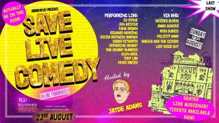 News: Buy Tickets For Save Live Comedy Gig With Ed Byrne, Jen Brister Richard Herring And Many More