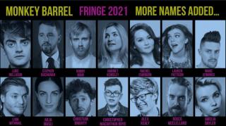 More Edinburgh Fringe Shows For Monkey Barrel