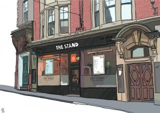 News: Comedian/Artist Sells Pictures Of The Stand Comedy Club To Raise Money